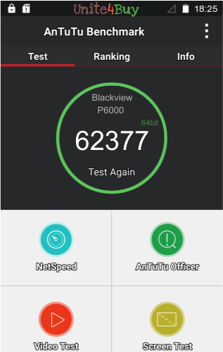 Blackview P6000  Antutu benchmark résultats, score de test