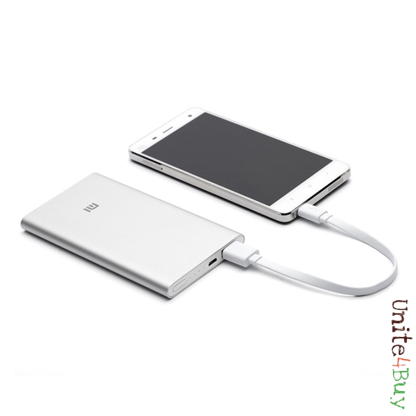 photo Xiaomi 5000mAh Mobile Power Bank Li-Polymer Battery Charger